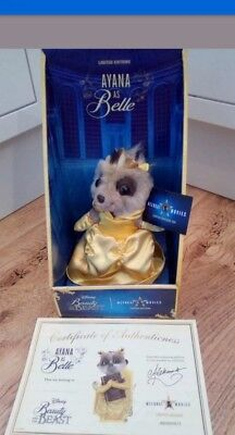 Limited Edition Beauty and the Beast Meerkat toy - Ayana as Belle