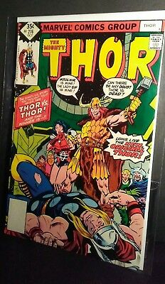 1978 THE MIGHTY THOR!!! #276 Marvel comics. Thor vs Thor.... Who will win?