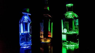 LED Flaschenlicht Bottle Sticker Licht Aufkleber Sekt Party Flasche Light Bar