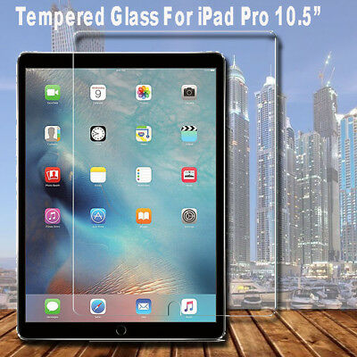 """Premium Tempered Glass Screen Protector Film for Apple iPad Pro 10.5"""" inch 2017"""