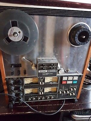 """TEAC tascam A-3340S 4-track Multi-Track STEREO 1/4"""" reel to reel tape recorder"""