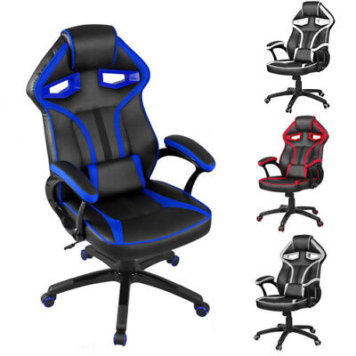 Office Chair Computer Game Seat PC Chair Sport Racing High Adjustable 4 Color