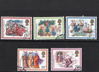 GB QE II 1982 Christmas set VFU