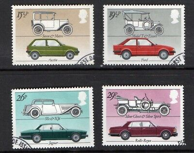 GB QE II 1982 British Motor Cars set VFU