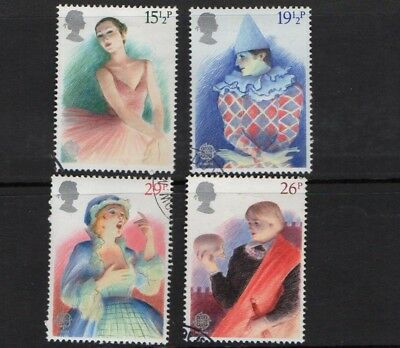 GB QE II 1982 Europa - British Theatre set VFU