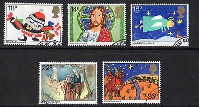 GB QE II 1981 Christmas set VFU