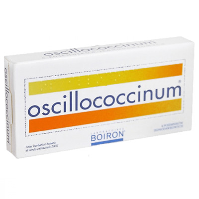 OSCILLOCOCCINUM *6dose. - HOMEOPATHIC TABLETS, COUGH AND FLU SYMPTOMS RELIEF