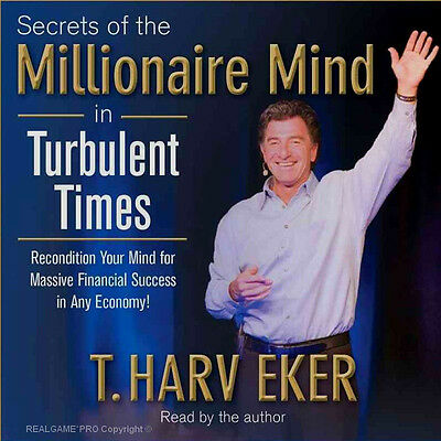 NEW 2 CDs ~ Massive Success in Turbulent Times * Secrets Of The Millionaire Mind