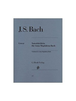 J.S. Bach: Notebook For Anna Magdalena Bach (Urtext Edition). Piano Sheet Music