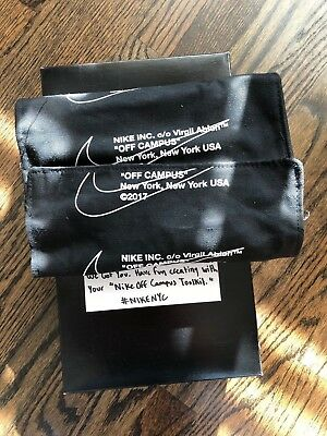 Off White x Nike Toolkit - Off Campus NYC Limited Rare Virgil Ableh