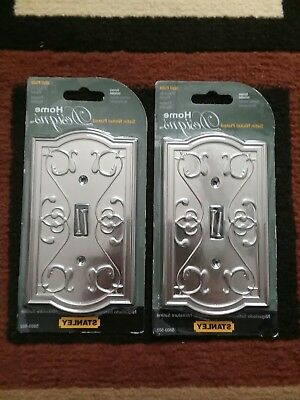 Lot of 2 Stanley Home Designs Switch Wall Plate Covers