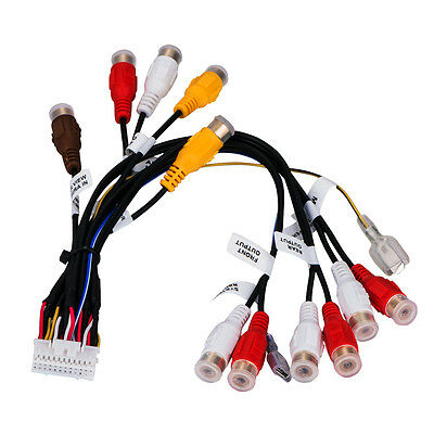 NEW CAR AUDIO 24Pin RCA Wire Harness For Pioneer AVIC-F900BT AVIC ...