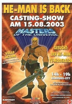 Werbeflyer von 200x - Masters of the Universe - He-Man - She-Ra