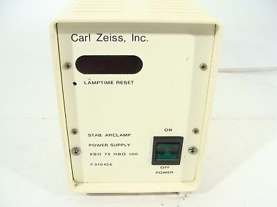 Carl Zeiss / LEP Stab. Arclamp Power Supply XBO 75 HBO 100 Power Supply Only