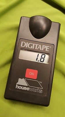 Digitape digital tape measure sonar sound wave measuring device hand held unique