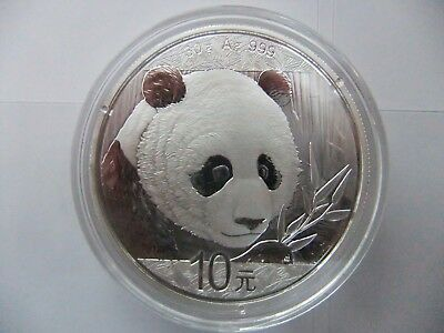 2018 Chinese Panda 30g silver coin plastic case