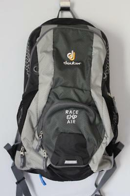 Deuter Race Exp Air Expandable Cycling Backpack Grey Vgc