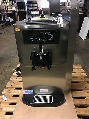 Taylor C709-27 Soft Serve Twin Twist Ice Cream Machine Air Cooled Single Phase