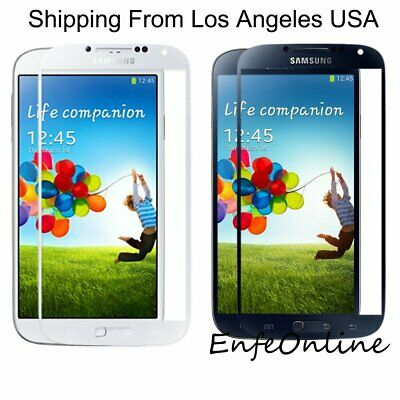 For Samsung Galaxy S4 Replacement Front Outer Touch Screen Glass Lens Protective