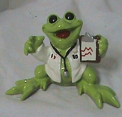 Kitty's Critters Dr. McFroggy Frog  Doctor NEW NIB