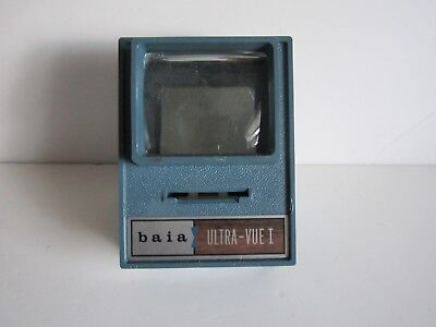 Vintage Baia Ultra-Vue 1 Slide Viewer--Battery Operated--2 C Size Included