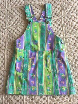 Vintage Girls Overall Dress