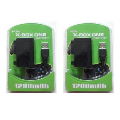 Xbox One Play and Charge Kit (2 Pack) - Brand New & Sealed (FREE SHIPPING)