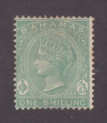 Kingscrossing - Bahamas stamp #22.  MH,  Early Issue! Very clean!  CV $65