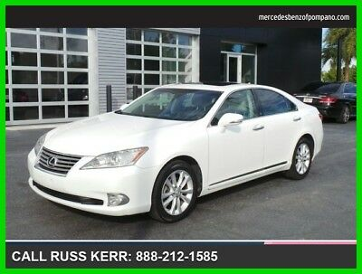 2010 Lexus ES 350 Base Sedan 4-Door 2010 Used 3.5L V6 24V Automatic Front Wheel Drive Sedan Premium