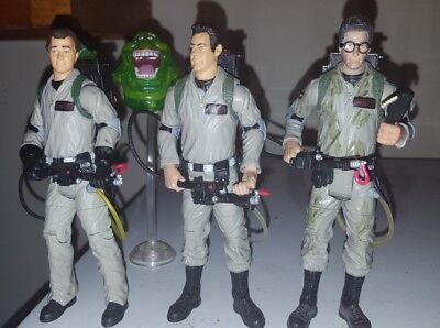 Ghostbusters Mattel Collector 6 Inch Figure Set Lot of 4 Egon Ray Peter Slimer