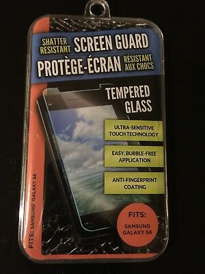 Shatter Resistan Screen Guard Tempred Glass For Samsung Galaxy S6
