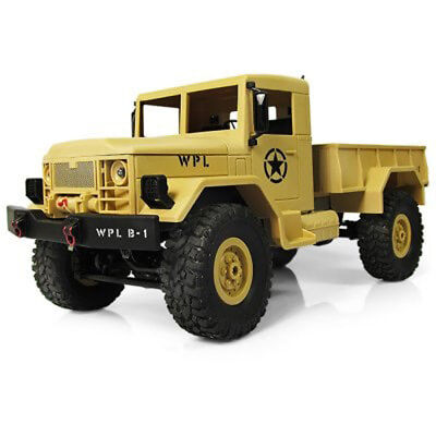 WPL RTR 2.4G 4WD 1:16 RC Militär LKW Auto Crawler Off Road Farben Optional