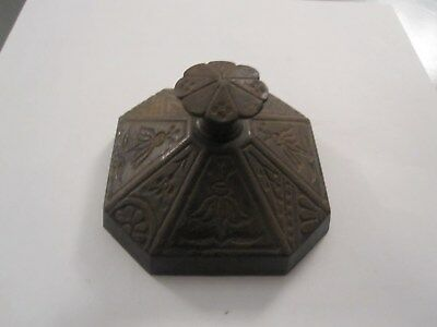 antique cast iron paperweight,1920s-30s