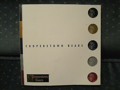 Cooperstown Bears Catalog; 218 Pages; Great Condition