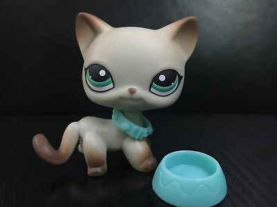 Littlest Pet Shop lps Toy Figure Short Hair Cat # 391 Christmas Gift collection