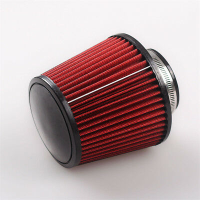 High Flow Cold Air 100mm Caliber K&N Induction Filter Round Tapered Cone Style