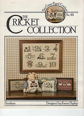 NUMBERS - cross stitch pattern  - the Cricket Collection