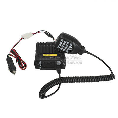KT-8900D DualBand VHFUHF Screen Quad-Standy PTT-ID Code Mobile Radio Transceiver