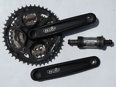 Sunrace Bicycle Alloy Triple Mountain Bike Crankset;22/32/44