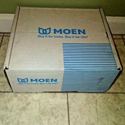 New In Box Moen 8230 Commercial Chrome Wall Mount Faucet