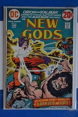 The New Gods # 11 : Fine- : Nov 1972 :dc Comics. {Comic Books}.