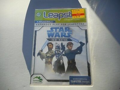 Leapster Star Wars Jedi Maths 5-8yrs Expanded Play for Leapster 2 Learning Game