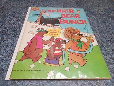 The Hair Bear Bunch Comic - Australia - Murray Comics