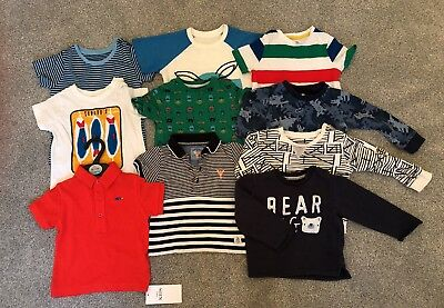 Job Lot Boys Toddler Tops And Jumper Set 9-12 12-18 And 18-24 Months Mothercare