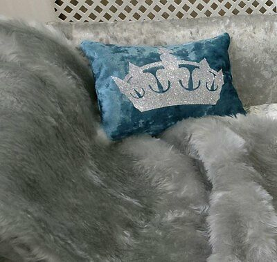 Personalised Dog Cat Scatter Cushion & Throw to upgrade ur Pets Bed & Bowl Set