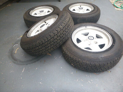 csa rimms 6.5JJx14 set of 4 with tyres
