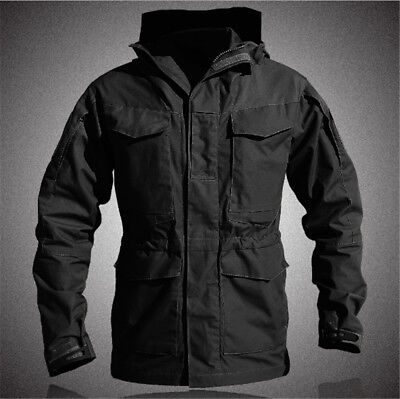 Hot Sale Waterproof Mens Field Jacket Military Army Long Jackets Windbreaker 068