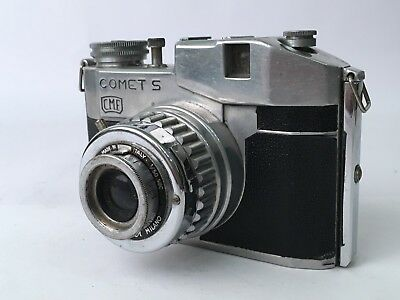 Bencini Comet S 120 Roll Film Camera From The 1950s. Free Shipping