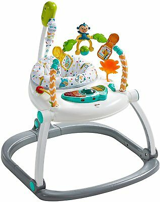Spacesaver Jumperoo Colourful Carnival  Fisher-Price Lights Sound Music Jump