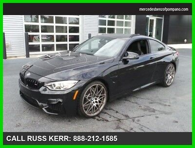 2017 BMW M4 Base Coupe 2-Door 2017 Used Turbo 3L I6 24V Automatic Rear Wheel Drive Coupe Premium